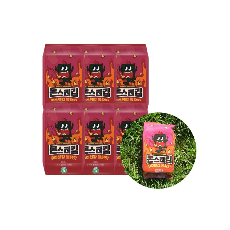 KWANGCHEON KWANGCHEON SUNG GYUNG Monster Gim (Hot Chicken Flavor) 36g (6 x 6g) 1