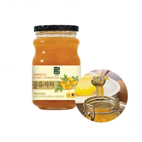 TEA TSUBOICH  NOCHAWON Honey citron Tea 480g 1