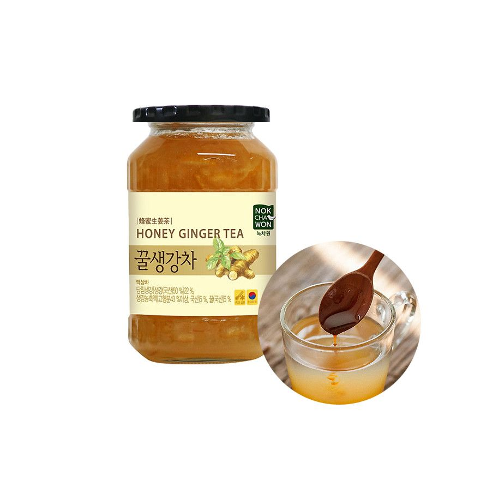 TEA TSUBOICH  녹차원 꿀 생강차 480g 1