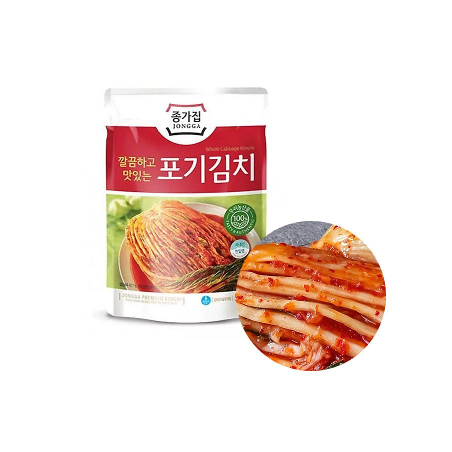 CJ BIBIGO JONGGA (냉장) 종가집 포기김치 500g (유통기한: 24/09/2021) 1