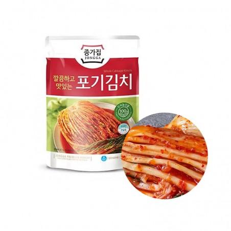 CJ BIBIGO JONGGA (Kühl) Jongga Kimchi ganz 500g(MHD : 24/09/2021) 1