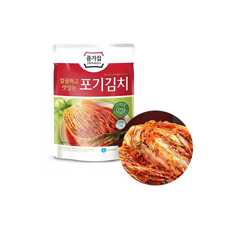CJ BIBIGO JONGGA (Kühl) Jongga Kimchi ganz 1kg (MHD: 26/07/2021) 1