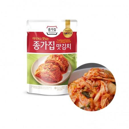 CJ BIBIGO JONGGA (Kühl) JONGGA Kimchi geschnitten 500g (MHD: 26/07/2021) 1