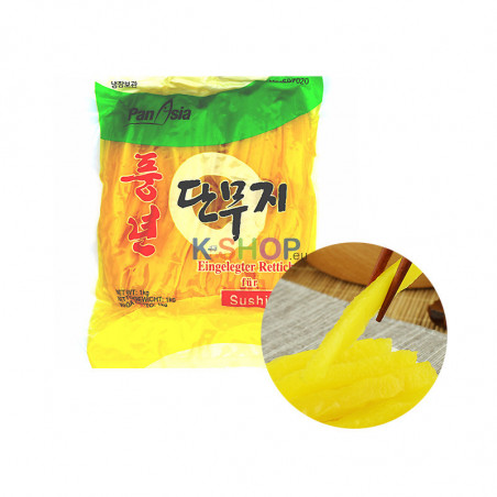 PANASIA PANASIA 풍년 김밥용 단무지 1kg 1