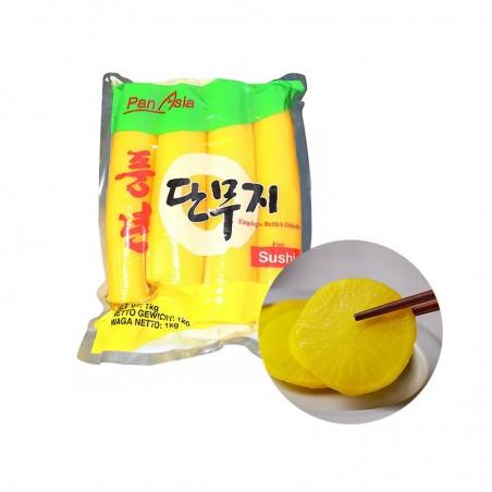 PANASIA PANASIA PANASIA Eingelegter gelber Rettich 1kg 1