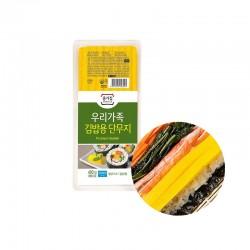 JONGGA (냉장) 종가집 우리가족 김밥용 단무지 400g (유통기한: 01/11/2021) 1