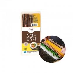 JONGGA (RF) Jongga yellow radish pickled & burdock 250g(BBD : 12/11/2021) 1