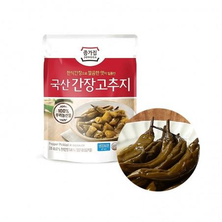 INAKA JONGGA (RF) Jongga Pickled Pepperoni 150g(BBD : 11/09/2021) 1