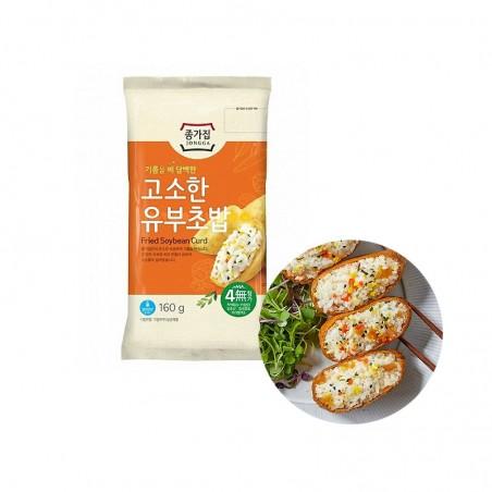 JONGGA (RF) Jongga Fried Soybean Curd 160g (BBD : 12/11/2021) 1