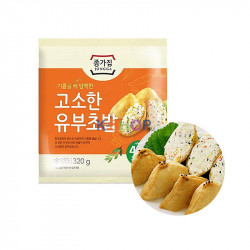 JONGGA (냉장) 종가집 고소한 유부초밥 320g (유통기한: 12/11/2021) 1