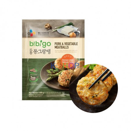 CJ BIBIGO (TK) BIBIGO Fleischbälle Korean Style 500g 1