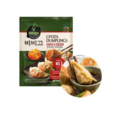 CJ BIBIGO CJ BIBIGO (FR) CJ BIBIGO Gyoza Dumplings Kimchi & Chicken 600g 1