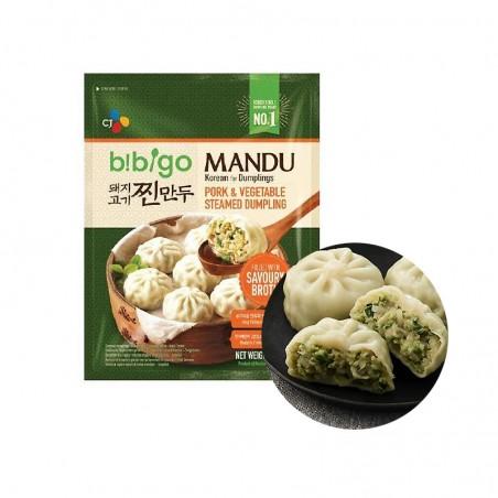 CJ BIBIGO CJ BIBIGO (TK) CJ BIBIGO gedämpfte Mandu Schweinefleisch & Gemüse 560g 1