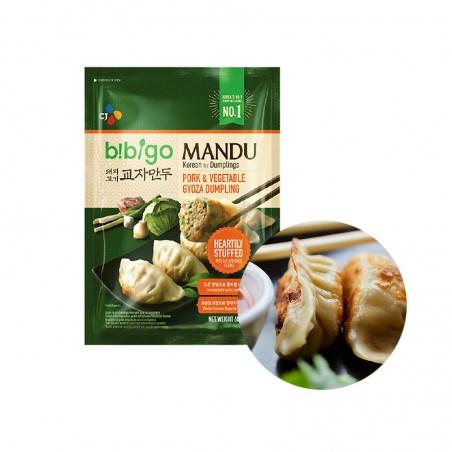 CJ BIBIGO CJ BIBIGO (FR) CJ BIBIGO Dumpling pork & vegetetable 600g 1