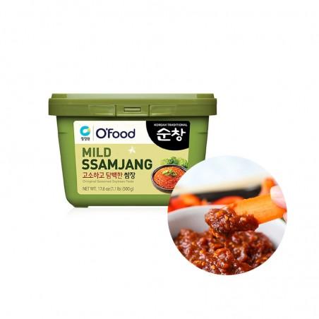 CHUNGJUNGONE CHUNGJUNGONE O'Food Sojabohnenpaste, gewürzt (Ssamjang) 500g (MHD : 22/03/2022) 1