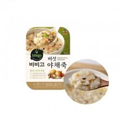 Dongwon CJ BIBIGO 씨제이 비비고 버섯야채죽 280g 1
