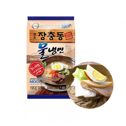 HANSUNG  (Kühl) SURASANG koreanische Nudeln Kalte Suppe 1.07kg (JANGCHUNGDONG MULNAENGMYEON) 1