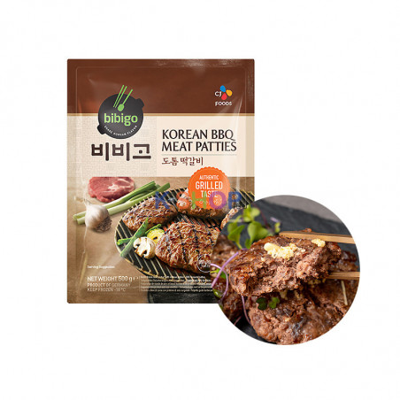 CJ BIBIGO (TK) BIBIGO Faschierte Laibchen Korean Style 500g 1