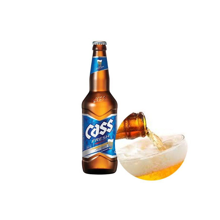 SINGHA  CASS FRESH Bier (4.5% Alc.) 330ml 1