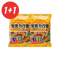 CROWN CROWN 1+1CROWN Caramel Candy Peanut 120g(BBD: 16/07/2021) 1