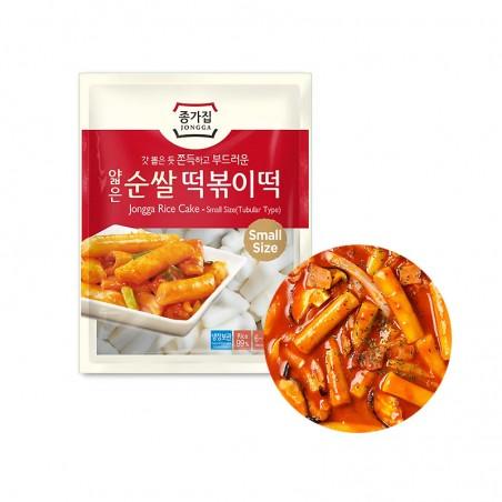 HANSUNG JONGGA (RF) Jongga Rice cake for tteokbokki thin1kg (MHD : 23/11/2021) 1