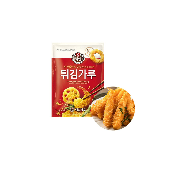 CJ BAEKSUL CJ BEKSUL 백설 튀김가루 1kg 1