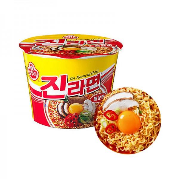 OTTOGI OTTOGI 오뚜기 진라면 컵 매운맛 110g (유통기한: 02/12/2021 ) 1