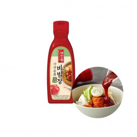CJ HAECHANDLE  CJ HAECHANDLE Pepper paste with Apple for Bibim 470g (BBD: 17/10/2021) 1