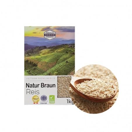 HANSUNG  Natur Braun Reis  VN / 1kg 1