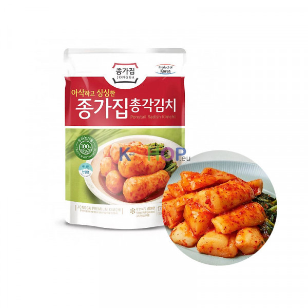 CJ BIBIGO JONGGA (Kühl) JONGGA Rettich Kimchi 500g 1