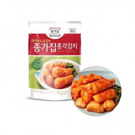 CJ BIBIGO JONGGA (냉장) 종가집 총각김치 500g (유통기한: 11/09/2021) 1