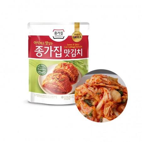 CJ BIBIGO JONGGA (Kühl) JONGGA Kimchi geschnitten 200g (MHD : 11/09/2021) 1