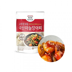 INAKA JONGGA (냉장) 종가집 고추장 모듬 국산 마늘장아찌 150g(유통기한: 11/09/2021) 1
