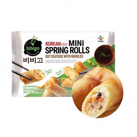 CJ BIBIGO (FR) BIBIGO Mini Springroll Soy Seafood with Noodles 280g 1