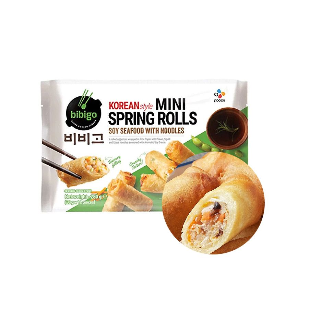 CJ BIBIGO (TK) BIBIGO Mini Springroll Soja Meeresfrüchte mit Nudeln 280g 1