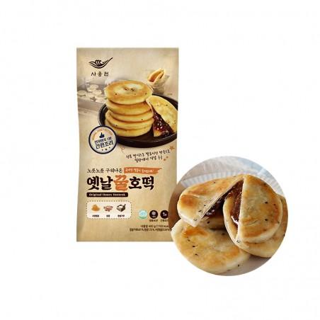 SAONGWON SAONGWON (TK) SAONGWON koreanischer Pfannkuchen mit Honig Hotteok 400g 1