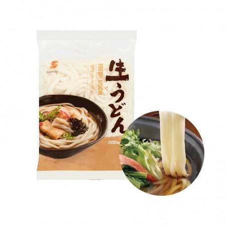 INAKA  SAMLIP Udon ohne Gewürze, gekocht 200g 1