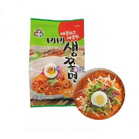 ASSI ASSI ASSI Bibim Cold Noodle Jjolmyeon 420g 1