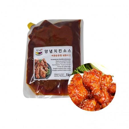SEMPIO HANSUNG HANSUNG Koreanische Brathähnchensauce 1kg 1