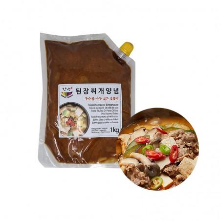 SEMPIO HANSUNG HANSUNG Sojabohnenpaste Eintopfsauce 1kg 1