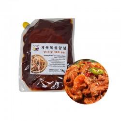 SEMPIO HANSUNG HANSUNG Scharfe gebratene Schweinefleischsauce 1kg 1