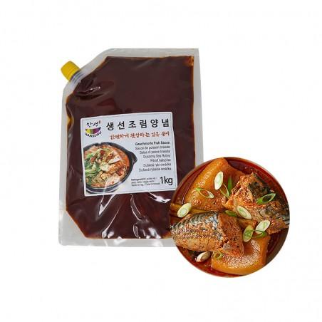 SEMPIO HANSUNG 한성 생선조림 양념 1kg 1