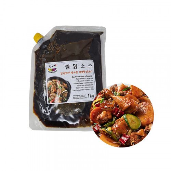 SEMPIO HANSUNG HANSUNG Geschmortes Hähnchen Sauce (Jjimdak)  1kg 1