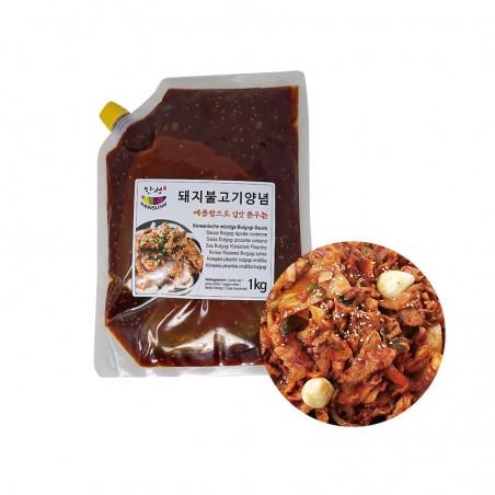 SEMPIO HANSUNG HANSUNG Korean Spicy Bulgogi Pork Sauce 1kg 1