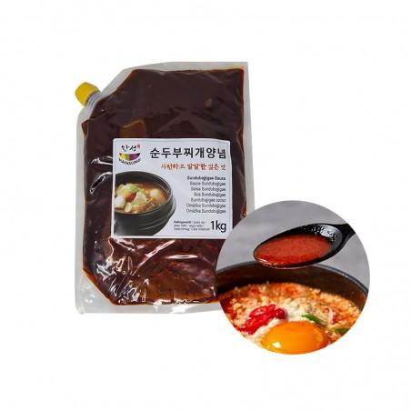 SEMPIO HANSUNG 한성 순두부찌개 양념 1kg 1