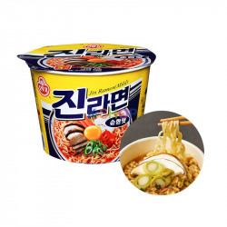 OTTOGI OTTOGI 오뚜기 진라면 컵 순한맛 110g 1