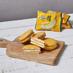 ORION ORION ORION ChocoPie Banana (37g x 12)(BBD : 15.08.2021) 1