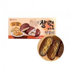 LOTTE LOTTE LOTTE Keks Reiskuchen mit Injeolmi 180g (30g x 6) (BBD : 09/03/2022) 1