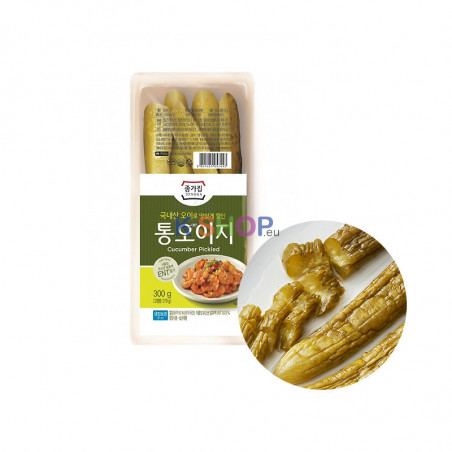 JONGGA (RF) Jongga Pickled Cucumber 300g(BBD : 11/01/2022) 1