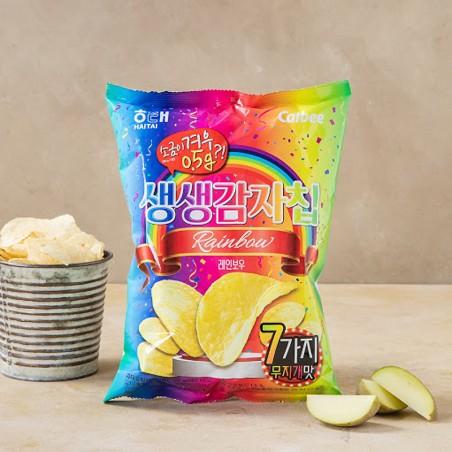 HAETAE HAITAI HAITAI kartoffel chip 60g (BBD : 04/09/2021) 1